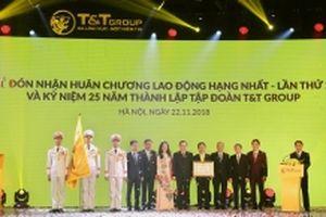Tập đoàn T&T đón nhận Huân chương Lao động hạng Nhất và thay đổi nhận diện thương hiệu