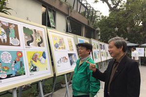 3 tác phẩm đoạt giải Nhì triển lãm tranh biếm họa chủ đề 'Phòng, chống tham nhũng'