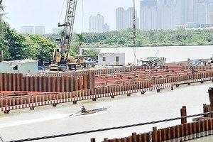 Yêu cầu bảo đảm an toàn giao thông đường thủy tại khu vực thi công các cống kiểm soát triều