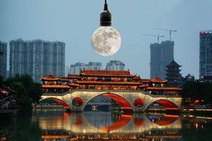 Mặt trăng nhân tạo thay đèn đường?