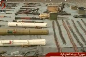 Phiến quân lại 'tặng' một lượng lớn vũ khí cho quân đội Syria
