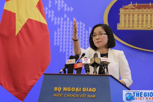 Bộ Ngoại giao lên tiếng về hợp tác dầu khí Trung Quốc - Philippines