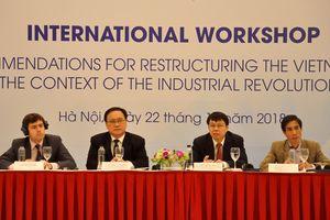 Cách mạng công nghiệp 4.0 tạo ra nhiều cơ hội và thách thức đối với quá trình tái cơ cấu kinh tế