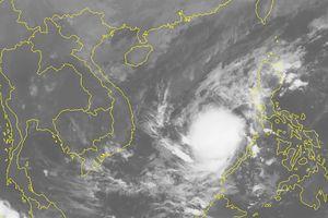 Áp thấp nhiệt đới giật cấp 8, đang tiến về quần đảo Trường Sa