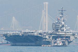 Chỉ huy nhóm tàu sân bay USS Ronald Reagan không lo áp lực hải quân Trung Quốc