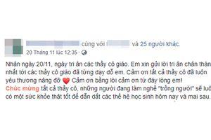 Nỗi buồn chúc trăm người như một và 'tag' tên trên Facebook