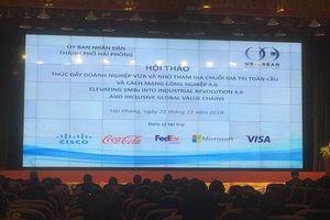 Thúc đẩy doanh nghiệp tham gia Chuỗi giá trị toàn cầu và Cách mạng công nghiệp 4.0