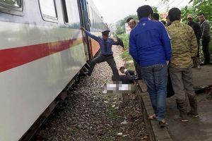 Băng qua đường sắt, nam thanh niên bị tàu hỏa húc chết
