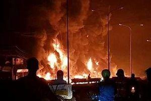 Thông tin mới vụ xe bồn bốc cháy tại Bình Phước: Đã xác đinh được danh tính lái xe