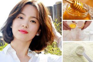 Song Hye Kyo và các mỹ nhân Hàn chia sẻ bí quyết làm đẹp từ nguyên liệu thiên nhiên