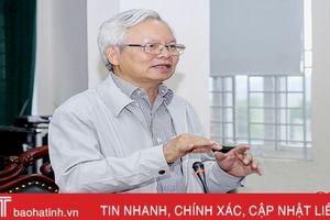 Hội đồng Lý luận Trung ương đánh giá cao nhiều sáng kiến phát triển KT-XHcủa Thạch Hà