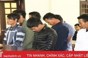 39 tháng tù cho nhóm đối tượng 'xóc đĩa' ở Thạch Hà!