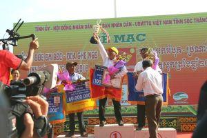 Chùm ảnh: Sôi động những cuộc đua ghe ngo lễ hội ở Sóc Trăng