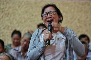 Cử tri trách bà Quyết Tâm sao không đưa vấn đề Thủ Thiêm ra Quốc hội