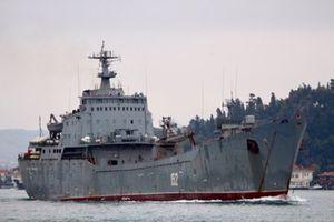 Tàu Nga chở hàng nghìn tấn vũ khí thẳng tiến Syria, chuẩn bị mở chiến dịch tấn công mới