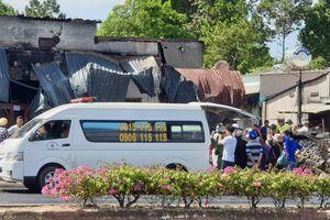 Cháy xe bồn thảm khốc: Nhói lòng 3 mẹ con chết kẹt trong nhà