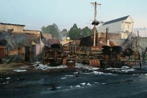 Thông tin mới nhất về vụ TNGT cháy xe bồn tại Bình Phước