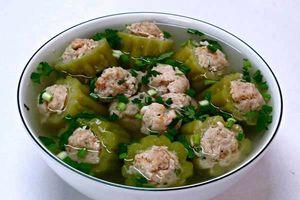 Bí quyết nấu canh mướp đắng nhồi thịt thơm ngon, bổ dưỡng