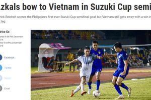 Báo Philippines ngả mũ trước chiến thắng của đội tuyển Việt Nam