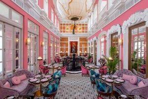 Vẻ đẹp lộng lẫy của nhà hàng trong khu nghỉ dưỡng tốt nhất thế giới