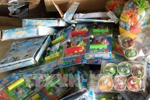Bắt lô hàng đồ chơi trẻ em nhập lậu ở vùng biên Móng Cái