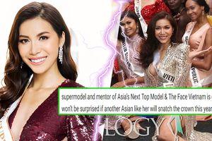 Truyền thông quốc tế xem Minh Tú là 'sấm sét': 'Miss Vietnam giật vương miện cũng chẳng lạ gì'
