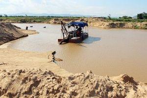 Đại công trường khai thác cát lậu trên biển