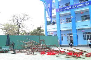 Thông tin mới vụ giàn giáo đổ làm 25 học sinh tiểu học bị thương