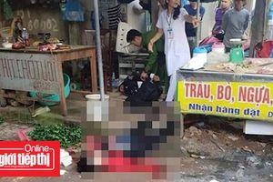 Nghi phạm bắn phụ nữ bán đậu ở Hải Dương đã chết tại bệnh viện
