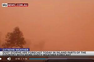 Bão cát càn quét Sydney (Australia), đe dọa sức khỏe người dân
