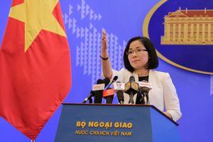 Việt Nam phản đối Đài Loan tập trận bắn đạn thật ở Trường Sa