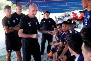 Với HLV Eriksson, Philippines sẵn sàng tranh ngôi vô địch AFF Cup