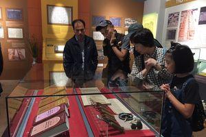 Triển lãm mộc bản, kể chuyện khởi dựng Hoàng Thành Thăng Long