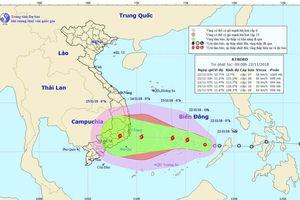 EVNSPC sẵn sàng ứng phó với bão số 9