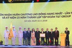 Tập đoàn T&T Group: Đón nhận huân chương lao động hạng nhất lần thứ 2 và ra mắt bộ nhận diện thương hiệu mới