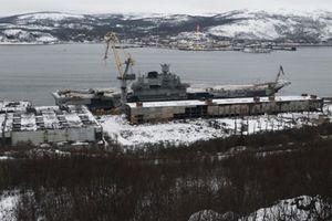 Nga mất triệu USD sửa 'Đô đốc Kuznetsov' sau sự cố