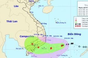 Tin mới nhất về bão số 9: Bão đang áp sát đất liền các tỉnh Nam Trung Bộ