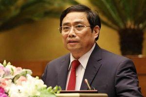 Ông Phạm Minh Chính: 'Không đổi xe khi lên chức cũng là nêu gương'
