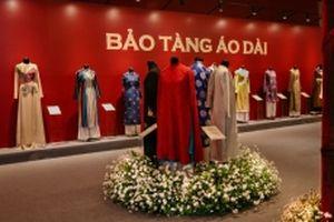 Dấu ấn Bảo tàng Áo dài tại Triển lãm Không gian Di sản Việt Nam