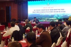 Hội thảo xúc tiến đầu tư khu vực Tây Bắc