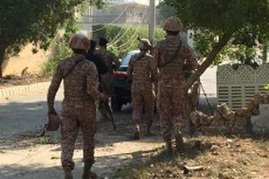 Tấn công khủng bố tại khu vực ngoại giao ở Pakistan