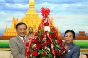 Chúc mừng Quốc khánh Lào lần thứ 43