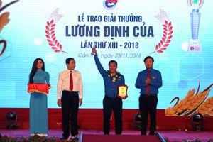 50 thanh niên xuất sắc nhận Giải thưởng Lương Định Của