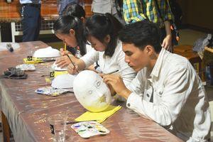 Bảo tàng Đà Nẵng tổ chức chương trình 'Mặt nạ thời gian'