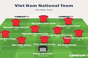 HLV Park Hang-seo 'lắp' đội hình nào để vùi dập Campuchia tại AFF Cup 2018?