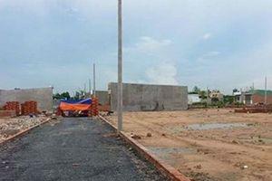 Đất dân cư xây dựng mới, đất hỗn hợp được cấp phép xây dựng