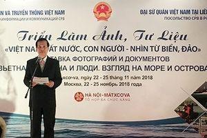 Bộ TT&TT tổ chức triển lãm về biển đảo Việt Nam tại Liên bang Nga
