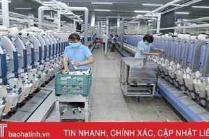 Sản xuất gần 7.000 tấn sợi, Vinatex Hồng Lĩnh thu 424 tỷ đồng