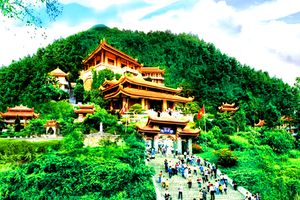 Những ngôi chùa thanh tịnh cho người thích ngắm cảnh đẹp
