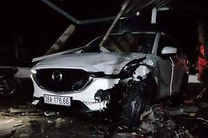 Phó phòng Tài nguyên lái ô tô va chạm với xe máy gây chết người